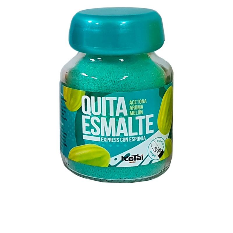 QUITAESMALTE ESPONJA ACETONA aroma melón 75 ml