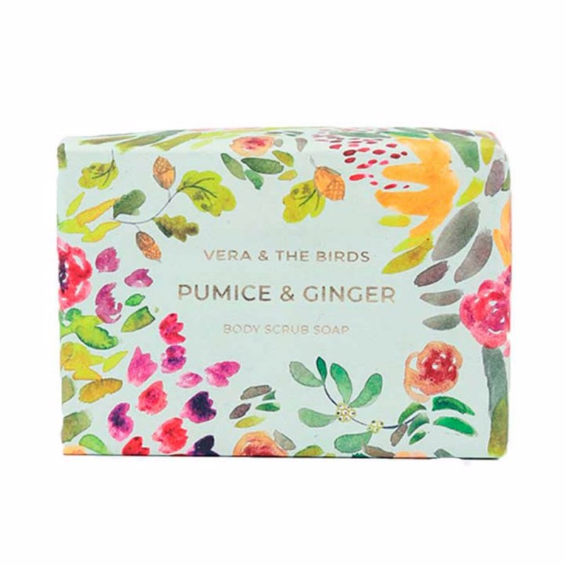PUMICE & GINGER body scrub soap 100 gr