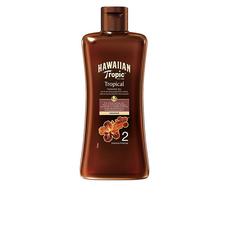 COCONUT tropical tanning oil SPF2 200 ml