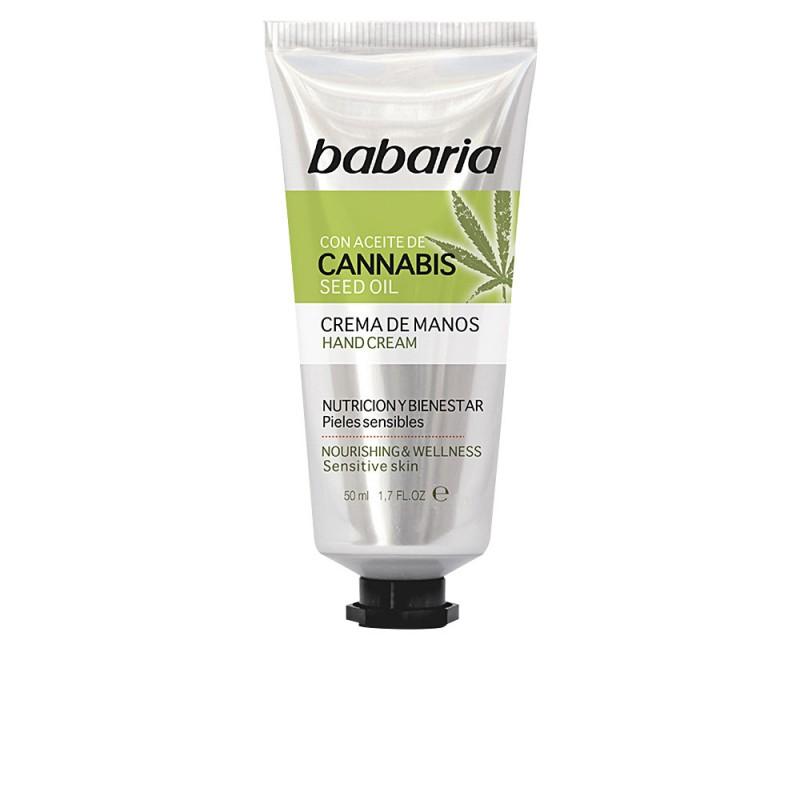 CANNABIS crema manos nutrición y bienestar 50 ml