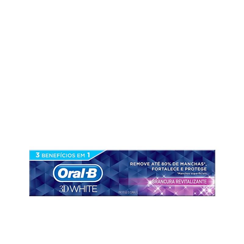 3D WHITE blancura revitalizante pasta dentífrica 75 ml