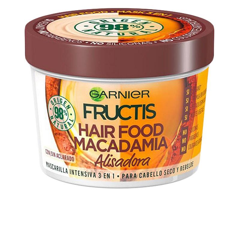 FRUCTIS HAIR FOOD macadamia mascarilla alisadora 390 ml