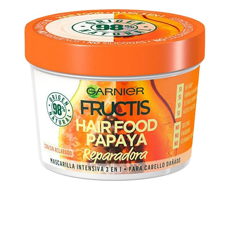 FRUCTIS HAIR FOOD papaya mascarilla reparadora 390 ml