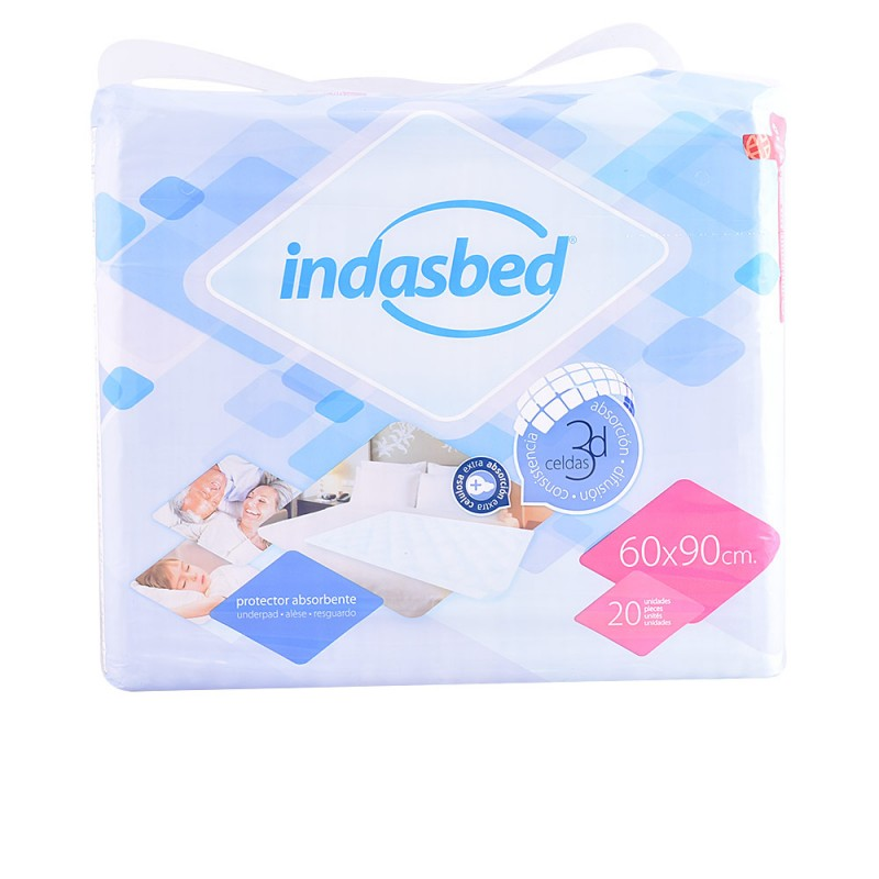 INDASBED protector absorbente 60x90 cm 20 uds