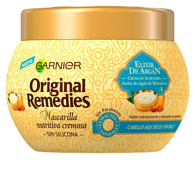 ORIGINAL REMEDIES mascarilla elixir argán 300 ml