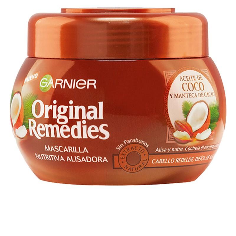 ORIGINAL REMEDIES mascarilla aceite coco y cacao 300 ml