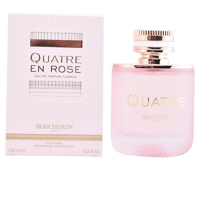 QUATRE EN ROSE edp florale vaporizador 100 ml