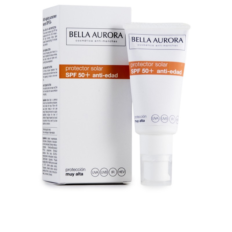 BELLA AURORA SOLAR protector SPF50+ anti-edad 30 ml