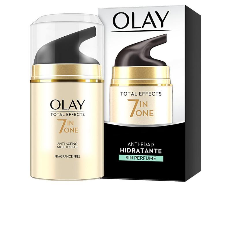 TOTAL EFFECTS anti-edad hidratante sin perfume 50 ml