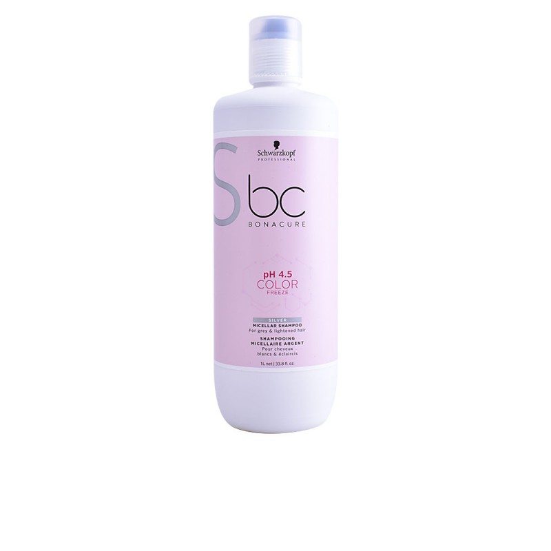 BC COLOR FREEZE silver shampoo 1000 ml