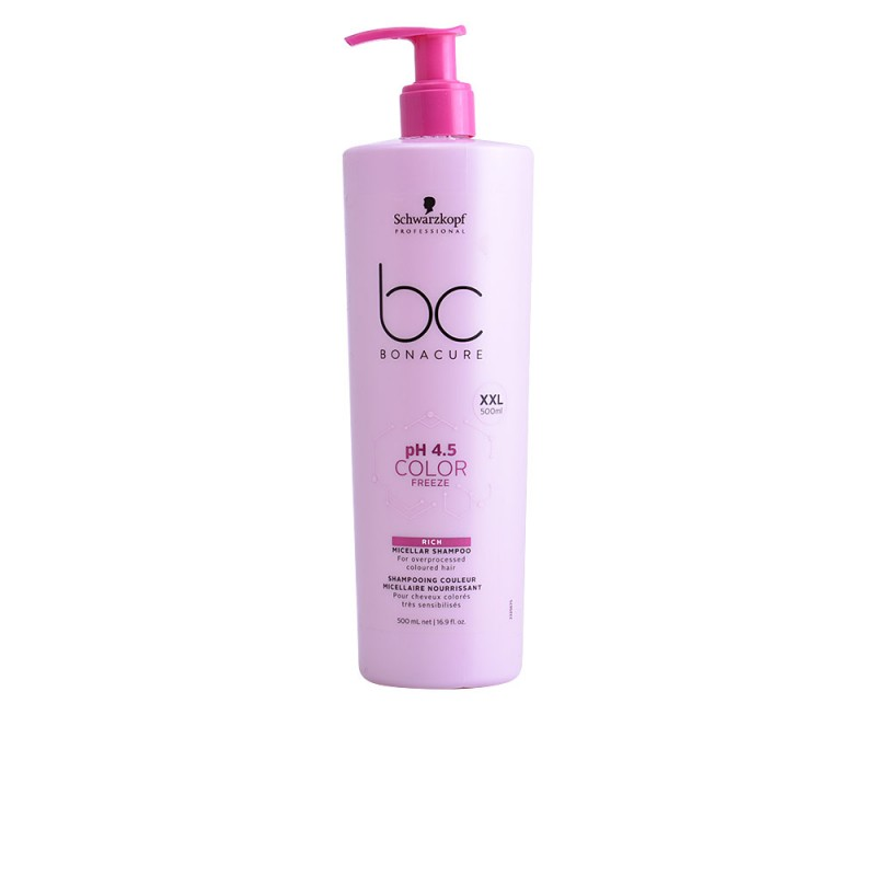 BC COLOR FREEZE rich micelar shampoo 500 ml