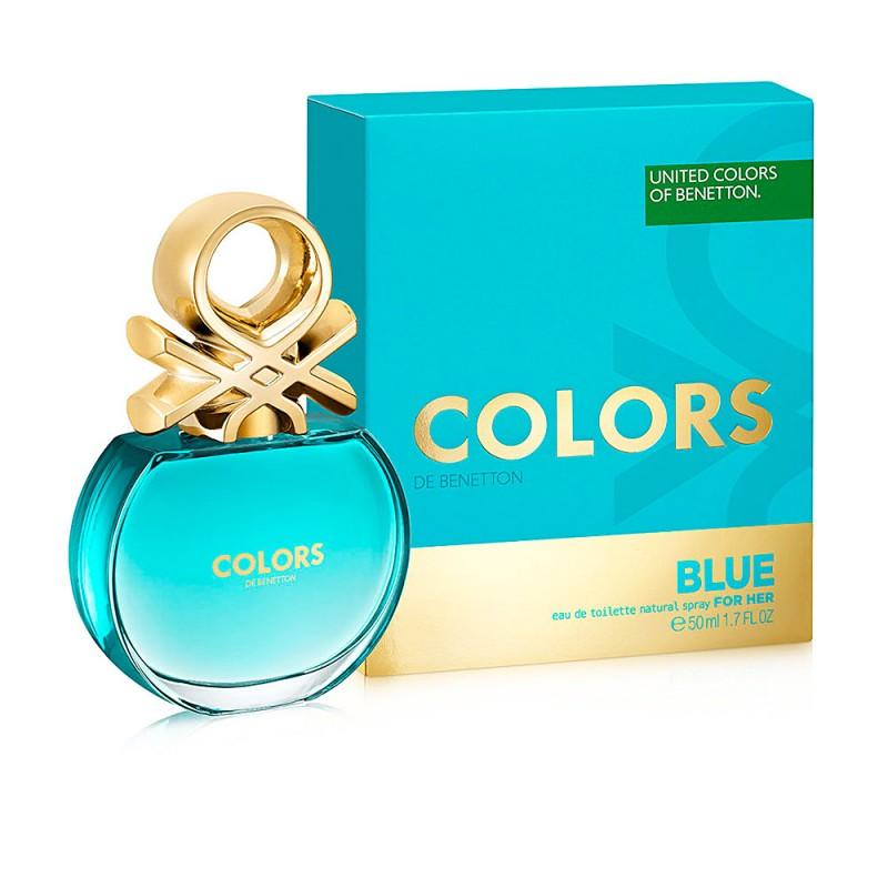 COLORS BLUE edt vaporizador 50 ml