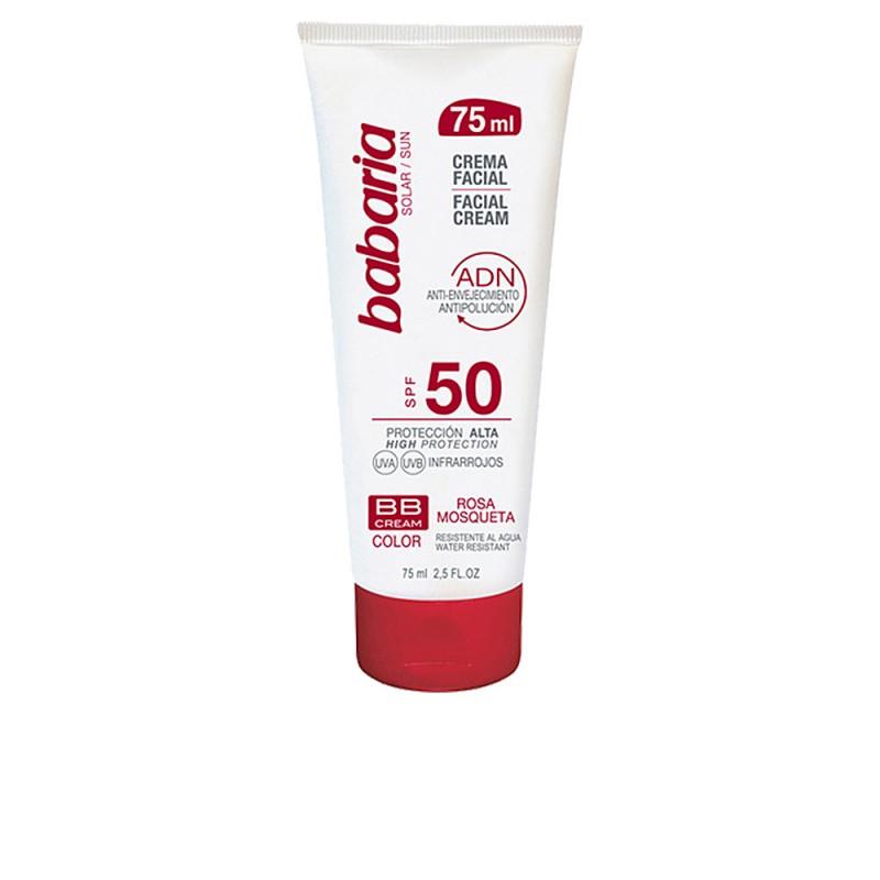 SOLAR ADN BB crema solar rosa mosqueta SPF50 75 ml