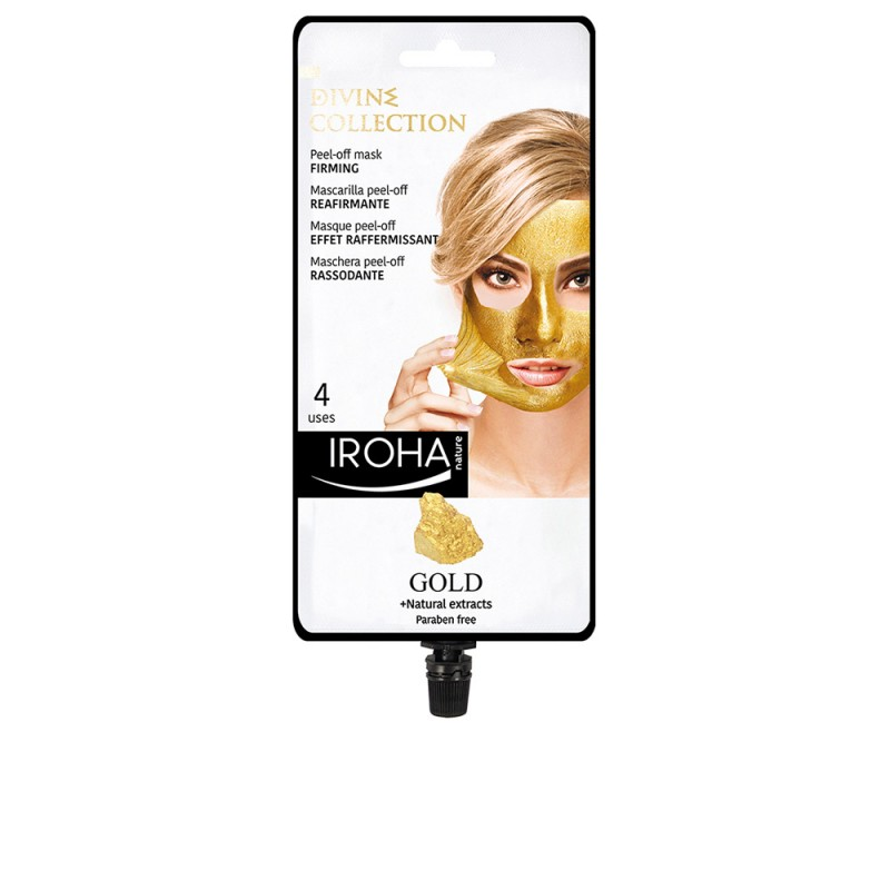 GOLD peel-off firming mask 4 uses