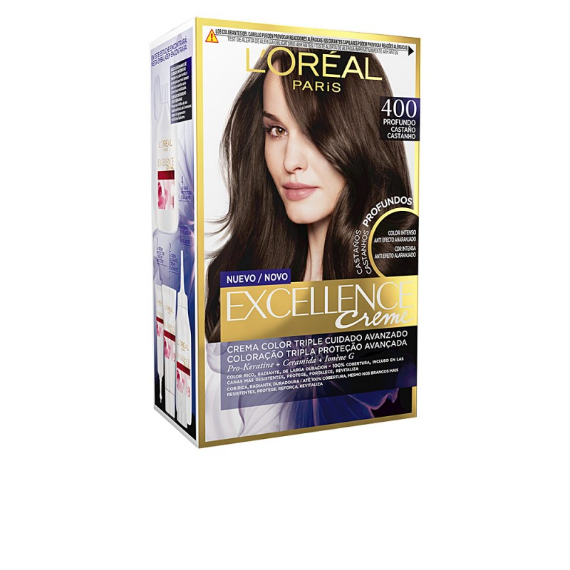 EXCELLENCE BRUNETTE tinte 400 true brown