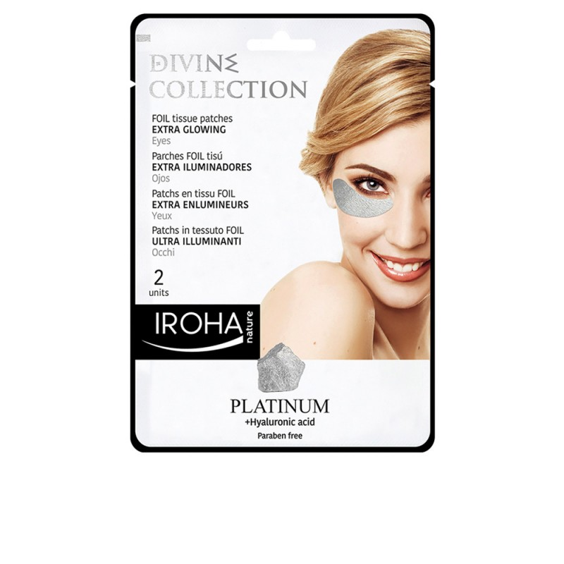 PLATINUM tissue eyes patches extra glowing 2 pcs