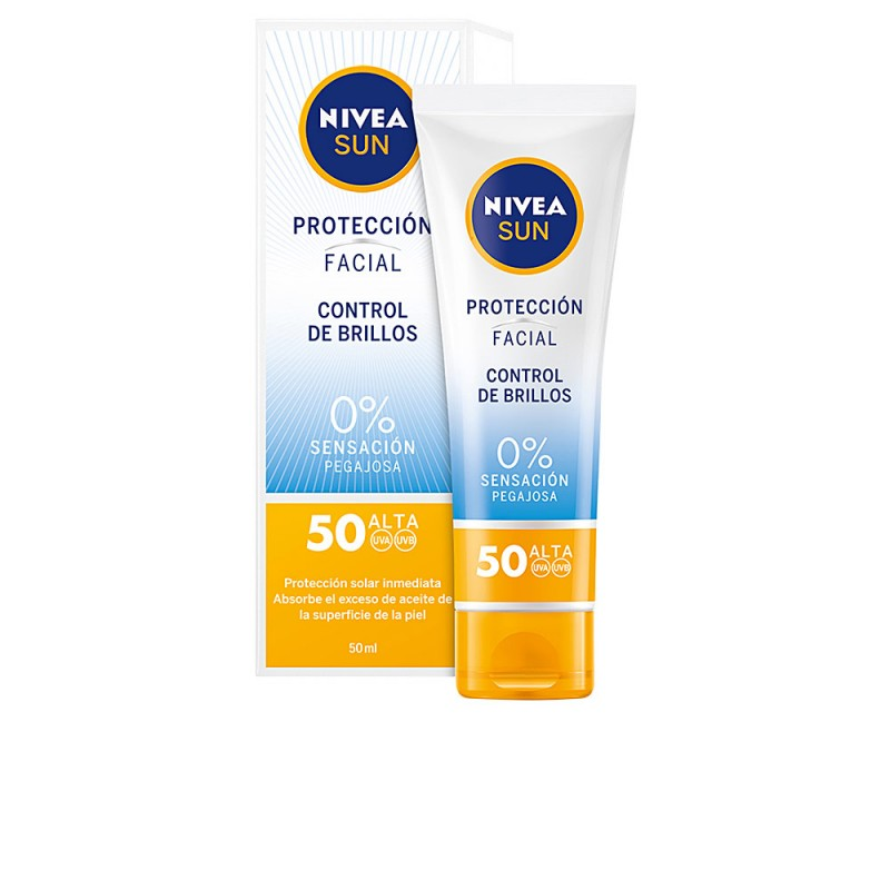 SUN FACIAL control de brillos SPF50 50 ml