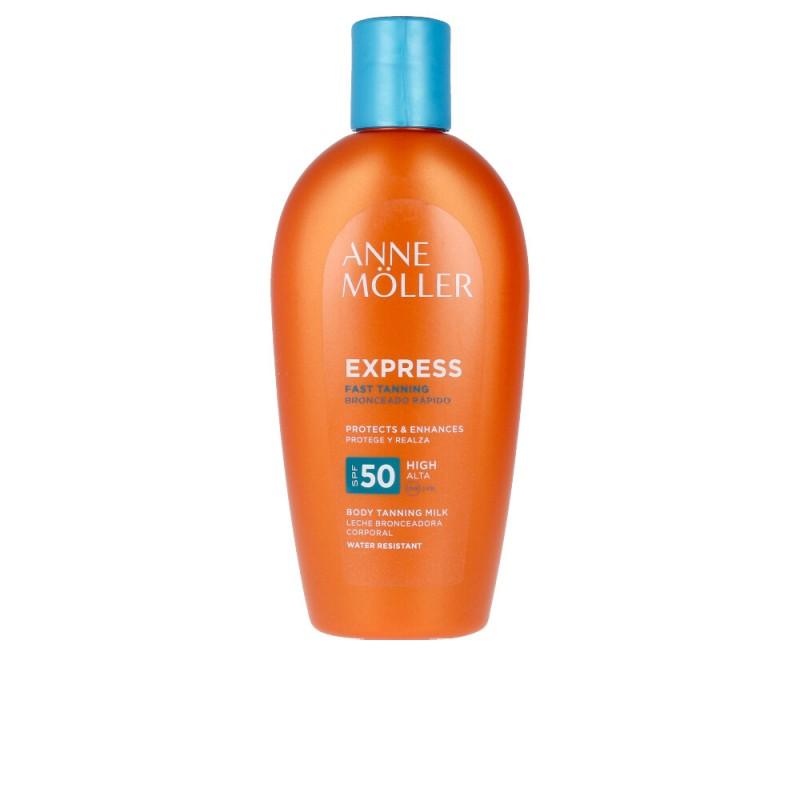 EXPRESS leche bronceadora corporal SPF50 200 ml